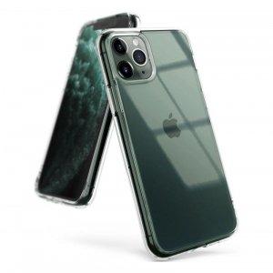 Ringke Fusion Matte etui pokrowiec z żelową ramką iPhone 11 Pro Max przezroczysty (FMAP0003)