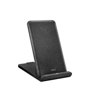UNIQ Ład. indukcyjna Vertex Foldable 10W Fast charge szary/charcoal grey (LITHOS Collective)