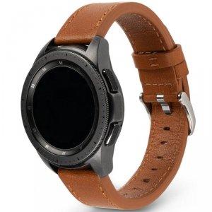 Ringke Leather One Classic skórzana bransoleta opaska pasek do zegarka smartwatch Samsung Galaxy Watch 3 41 mm brązowy (COM-B-20