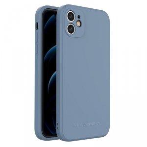 Color Case silikonowe elastyczne wytrzymałe etui iPhone 11 niebieski