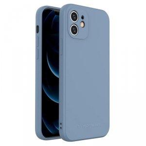 Color Case silikonowe elastyczne wytrzymałe etui iPhone 8 Plus / iPhone 7 Plus niebieski