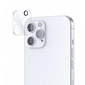 Joyroom Mirror Series szkło hartowane na cały aparat obiektyw kamerę do iPhone 12 Pro przezroczysty (JR-PF729)