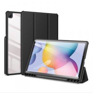 Dux Ducis Toby pancerne etui z klapką Smart Case do Samsung Galaxy Tab S6 Lite z uchwytem na rysik czarny