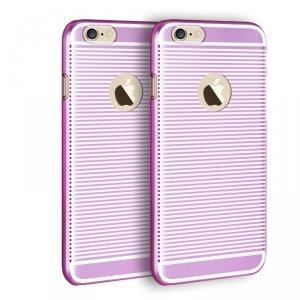 Etui X-FITTED Hard IPHONE 6+ Zebra różowe PPLDP