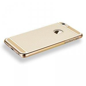 Etui X-FITTED hard case IPHONE 6+ zebra złote PPLDG
