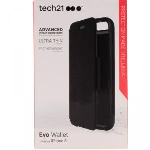 Etui portfel 2w1 TECH evo Iphone 6 6s czarny