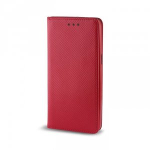 Etui portfl Flip Magnet HUAWEI Y5 2018 czerwone
