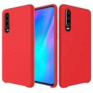 Etui Silicone Case elastyczne silikonowe SAMSUNG GALAXY A7 2018 czerwone