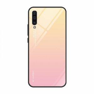Etui Szklane Glass case Gradient IPHONE X XS jasny róż