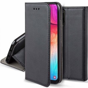 Etui portfel Flip Magnet MOTOROLA MOTO E6+ PLUS czarne