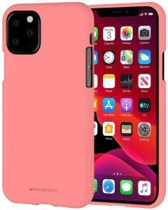Etui IPHONE 11 Soft Jelly jasny różowy