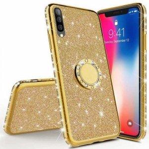 Etui XIAOMI MI9 LITE MI 9 LITE Diamond Ring Brokat złote