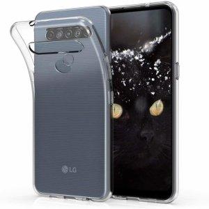 Etui LG K61 Back Żel transparentne