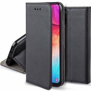 Etui MOTOROLA MOTO G8 POWER LITE portfel z klapką Flip Magnet czarne