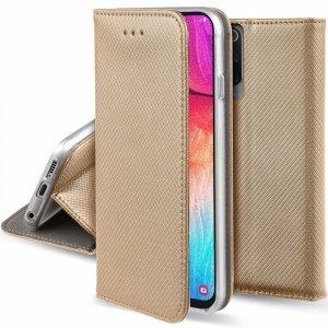 Etui XIAOMI REDMI 9A portfel z klapką Flip Magnet złote