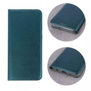 Etui LG K51S / K41S portfel z klapką skóra ekologiczna Kabura Magnet Book ciemnozielone