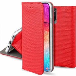 Etui MOTOROLA MOTO G9 PLAY portfel z klapką Flip Magnet czerwone