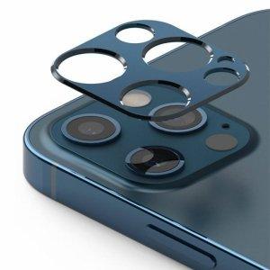 Nakładka ochronna na aparat IPHONE 12 PRO Ringke Camera Styling niebieski