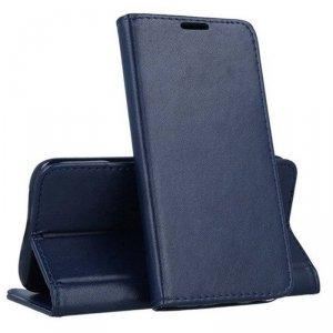 Etui SAMSUNG GALAXY A72 4G / 5G Portfel z Klapką Skóra Ekologiczna Kabura Magnet Book granatowe