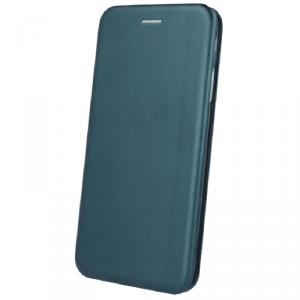 Etui SAMSUNG GALAXY A51 portfel z klapką skóra ekologiczna Flip Elegance ciemnozielone