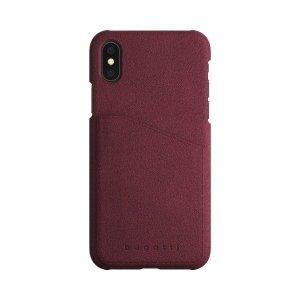 Bugatti Snap Londra Ultrasuede Phone 7/8 raspberry 29910