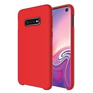 Beline Etui Silicone Huawei Y5p czerwony/red