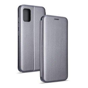 Beline Etui Book Magnetic Sam A52 4G/5G A52s stalowy/gray
