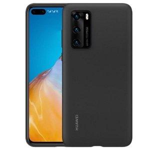 Huawei Silicone Case P40 Pro czarny /black 51993719