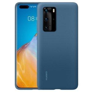 Huawei Silicone Case P40 Pro niebieski /blue 51993799