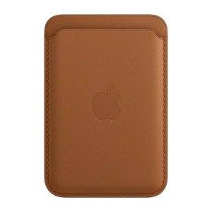 Portfel Apple MHLT3ZM/A MagSafe brązowy/brown Leather Wallet