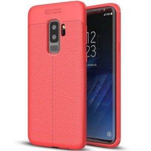 Etui Grain Leather Samsung S8 G950 czerw ony/red