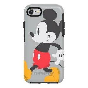 Etui Otterbox Symmetry Mickey Stride iPhone 7/8/SE 2020  szary/grey 36236