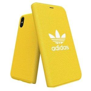 Adidas Booklet Case Canvas iPhone X/Xs żółty/yellow 30199