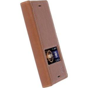Krusell Sony Xperia X Comp Sigtuna Smart Case 60814 koniakowy/cognac