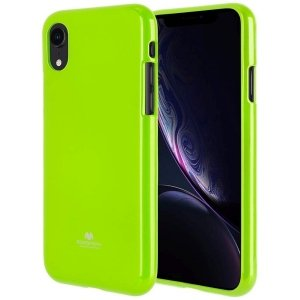 Mercury Jelly Case Huawei P10 limonkowy /lime