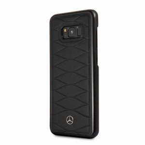 Etui Mercedes MEHCS8LWHCLBK S8 Plus G955 hard case czarny/black