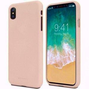 Mercury Soft LG K9 różowo-piaskowy /pink sand / K8 2018