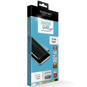 MS Diamond Edge 3D SAM G935 S7 Edge biały/white, Tempered Glass