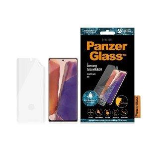 PanzerGlass TPU Samsung Note 20 N980 Case Friendly, Fingerprint, Antibacterial, Designed for Samsung, Materiał TPU
