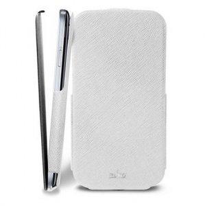 Puro Flipper Slim Samsung i9500 S4 biały SGS4FLIPWHI