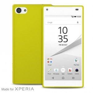 Puro Ultra Slim 0.3 Sony Z5 Comp. limonk + folia SYXZ5C03GRN