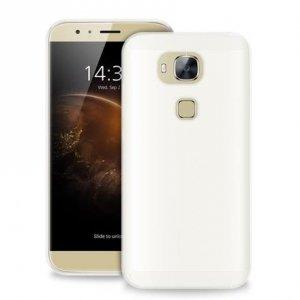 Puro Ultra Slim 0.3 Huawei G8 półprzeźro czysty + folia HWG803TR