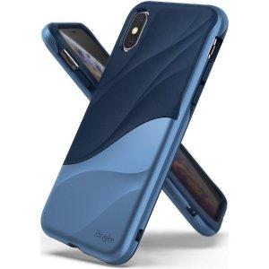 Ringke Wave iPhone X/Xs niebieski /coastal blue WVAP0019