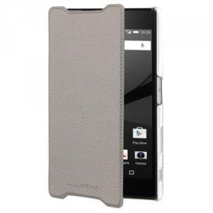 Roxfit Book Case Ultra Xperia Z5 Compact srebrny SMA5159S