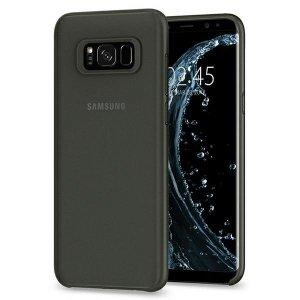 Spigen Air Skin Samsung S8 czarny/black 28980