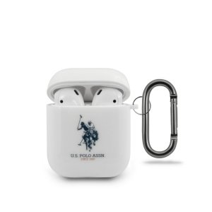 US Polo USACA2TPUWH AirPods case biały/white Shiny