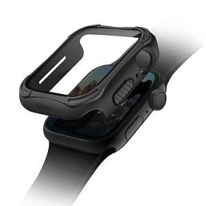 UNIQ etui Torres Apple Watch Series 4/5/6/SE 40mm. czarny/midnight black