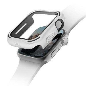 UNIQ etui Torres Apple Watch Series 4/5/6/SE 44mm. biały/dove white
