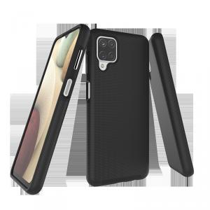 X-GUARD DUAL LAYER RUGGED CASE Pancerne etui Samsung Galaxy A22 4G/LTE (czarny)