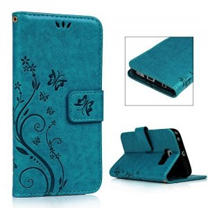Buterfly Etui Futerał Wallet Case Samsung Galaxy S6 EDGE